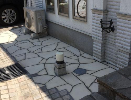花壇を撤去し駐輪スペースへリフォーム@世田谷区